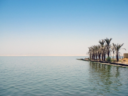 Lake Qarun in El Fayoum Oasis