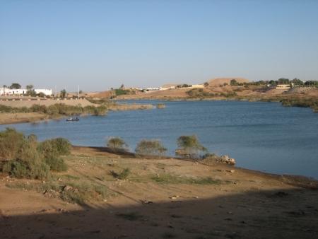 Lake Nasser in Aswan