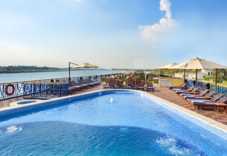 Amwaj Livingstone Nile Cruise Pool