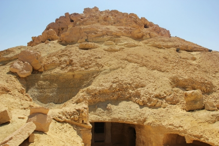 Montaña de los Muertos, Siwa