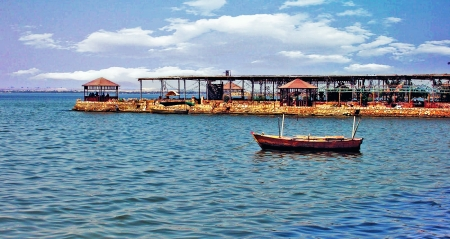 Lago Birket Qarun, Oasi di El Fayoum
