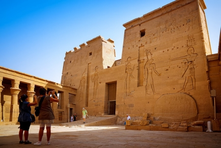 The Temple of Philae Aswan