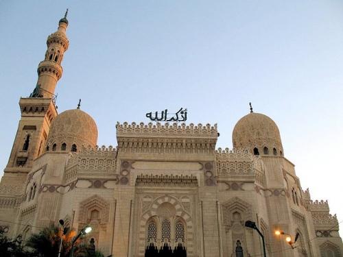 La Mezquita del Morsy Abul Abbas, Alejandría.