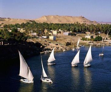 Felukenfahrt auf dem Nil