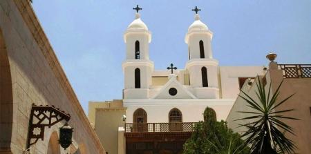 La iglesia colgante en El Cairo viejo