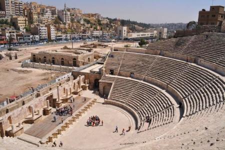 Il Teatro Romano di Amman