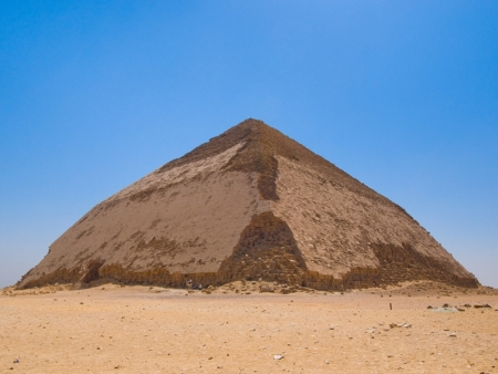 La Piramide Romboidale a Dahshur