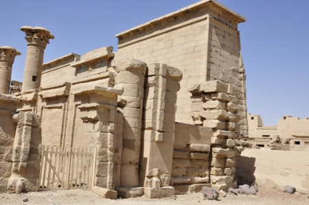 Temple of Habu at the West Bank, Luxor
