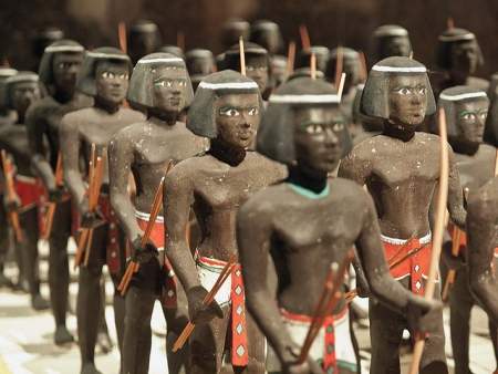 Figurines of Nubian Soldiers