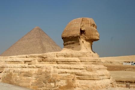 Esfinge e Pirâmides - Giza - Egito