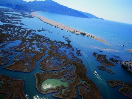 El delta de Dalyan