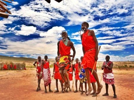 People of Masai Mara
