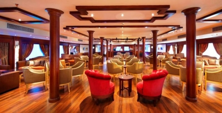 Amwaj Livingstone Nile Cruise Lounge
