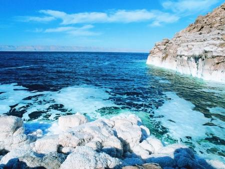 Cristallizzazione del Sale del Mar Morto