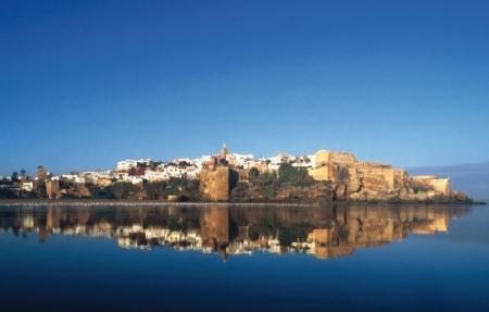 ラバト市内、モロッコ