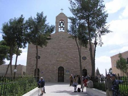 マダバ町;セントジョージ教会、ヨルダン