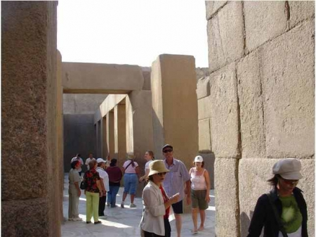 El templo del Valle por dentro