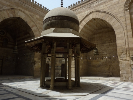 Ablution Fountain of Sultan Barquq Madrasa