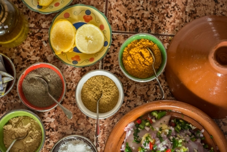 Moroccan Famous Spices