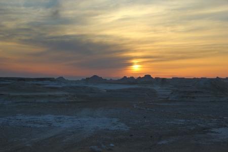 Marvelous Sunset at White Desert