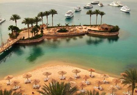 View from Hurghada Marriott Beach Resort