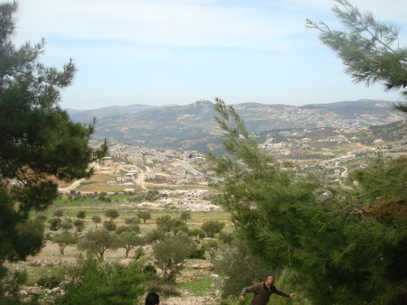 A view of the City of Ajloun