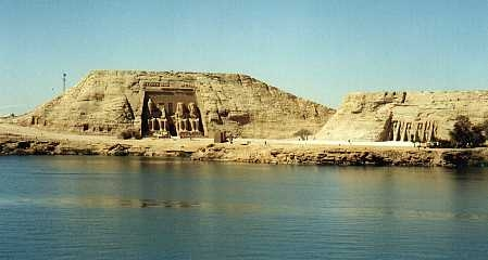 Abu Simbel on lake Nasser