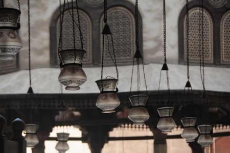 Lanternes traditionnelles, Mosquée du Sultan Hassan