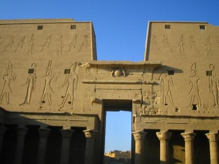 Edfu Temple, Upper Egypt