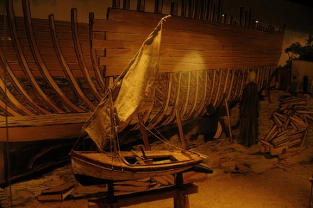 A Small Model of a Boat at the Nubian Museum