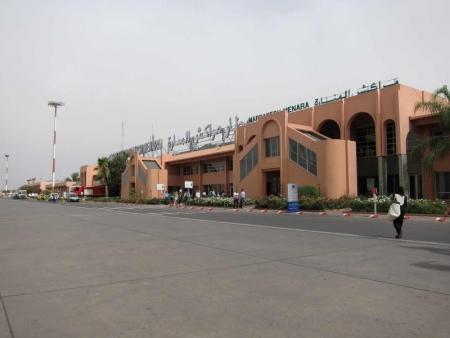 El aeropuerto de Marrakech