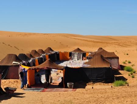 Comfortable Camp of Merzouga