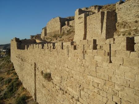 Fortezza di Kerak in Giordania