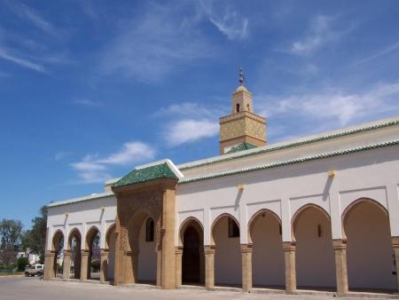 フェズのコートヤード、モロッコ