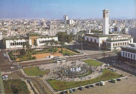 La plaza de Mohamed V.