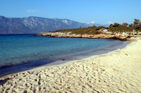 Sandy Beach of Cleopatra's Island
