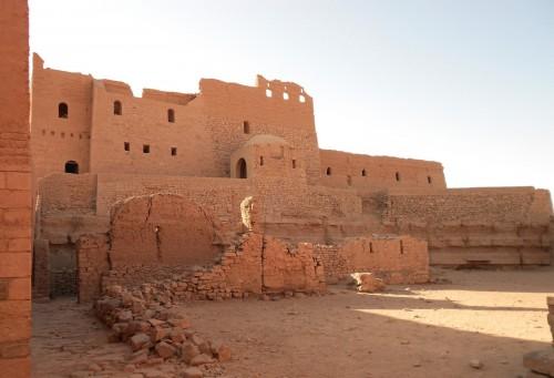 St. Simeon Monastery in Aswan