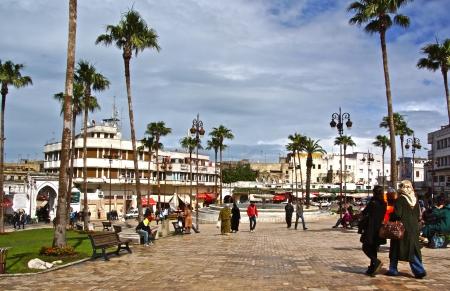 Mendoubia Gardens, Tangier