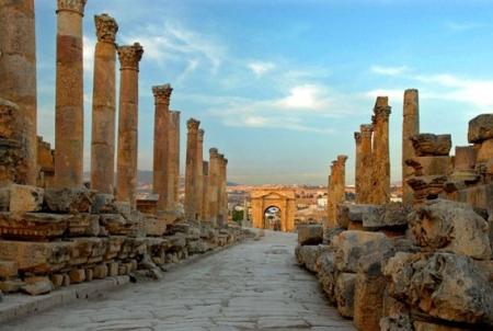 Colonnaded Street, Jerash