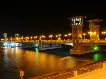 Alexandria by the night