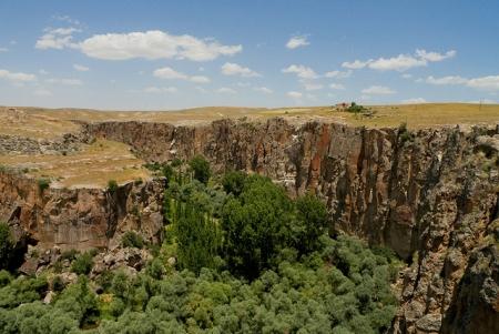 Ihlara Canyon at Cappadocia, Turkey
