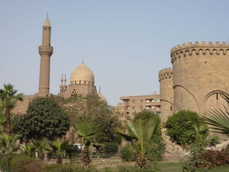 Mosque of Mahmudiyya and Bab Azab