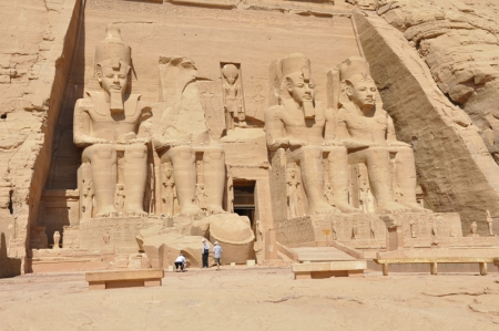 Abu Simbel Temple in The Morning