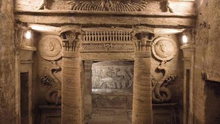 As Catacumbas de Kom el- Shuqafa - Alexandria