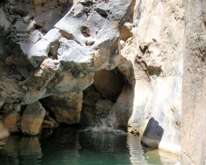 Snake Canyon in Oman