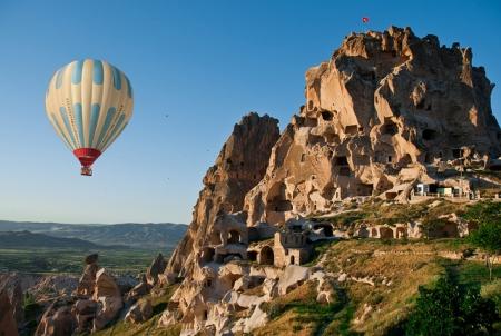 Uchisar Rock Castle in Cappadocia