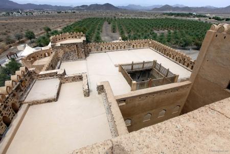 Charming Jabreen Fort