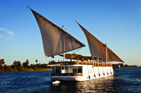 Loulia Dahabiya Nile Cruise