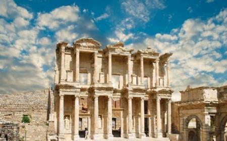 The Ephesus Library, Turkey