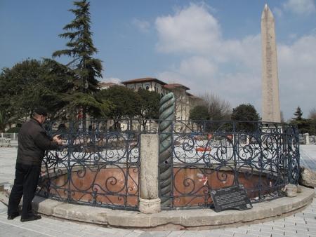 The Egyptian Obelisk, Istanbul